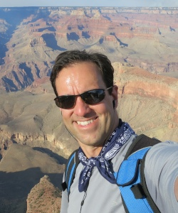 Jeremy at the Grand Canyon